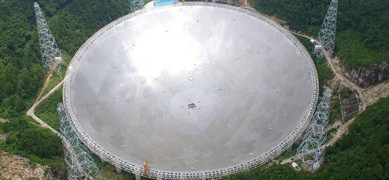 Ha létezik E.T., ezzel a teleszkóppal fogjuk megtalálni