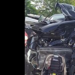 Százezrek osztják a Facebookon a fotót, amely tökéletesen megmutatja, miért fontos a gyerekülés az autóba