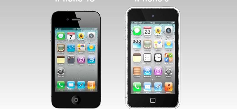 Ilyen lesz majd az iPhone 5? Újabb látványos koncepció! [videó]
