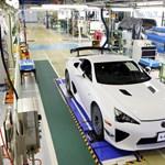 Elkészült a Lexus szuperautójának utolsó példánya