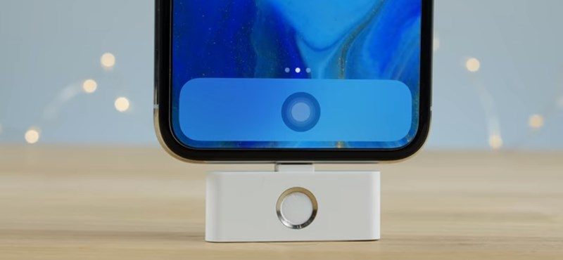 Visszatér a Home gomb és a fejhallgató-csatlakozó az iPhone X-re