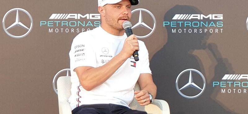 Mégis Bottas lesz a Mercedes pilótája 2021-ben