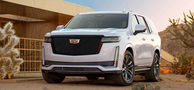 Beárazták a hatalmas új Cadillac Escalade-et