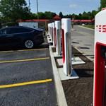 Két új állomással megduplázták a magyar Tesla Superchargereket