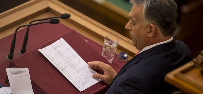 Megint kiakasztott valakiket Orbán a hétfői beszédével