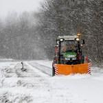 Ónos eső, havazás és zivatarveszély miatt adtak ki figyelmeztetést
