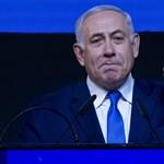 Rakétatámadás szakította félbe Netanjahu kampánybeszédét
