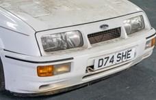 Poros pajtalelet: egy 1987-es Ford Sierra RS Cosworth várja új gazdáját