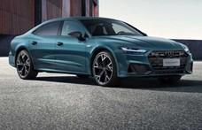 Kínában mindig a nagyobb kell, itt az Audi A7 nyújtott változata