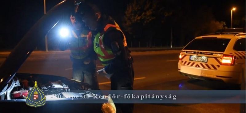 Illegális gyorsulási versenyzőket kapcsoltak le a rendőrök