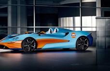 6,7 másodperc alatt gyorsul 0-ról 200-ra a szélvédő nélküli utcai McLaren