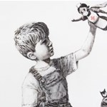 Banksy új szuperhősei az egészségügyi dolgozók