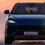 300-zal a jégen: új rekordot ért el a Lamborghini Urus divatterepjáró