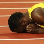 Nem így képzelte utolsó futását Usain Bolt