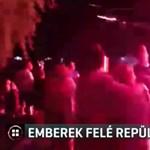 Egy szemtanú videóra vette, ahogy a nézők közé csapódik a tűzijáték Zánkán