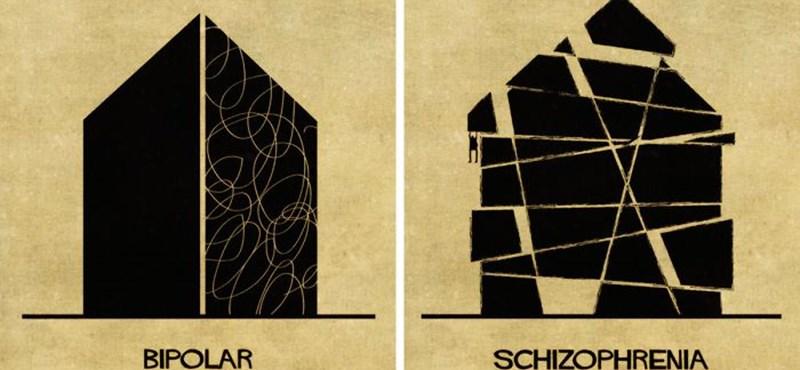 Így néznek ki a legsúlyosabb mentális betegségek építész szemmel