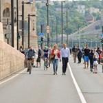 Hétvégente ismét a gyalogosoké a rakpart