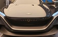 Elektromos önvezető autóval támad fel a legendás Lagonda márka