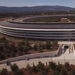 Még mindig van változás: itt a legújabb drónvideó az Apple Parkról