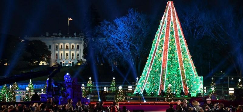 Félig megbénult Washington, és nem a karácsony miatt