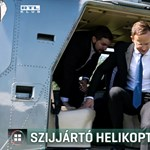 Másfél órás autóút helyett helikopterrel ment egy programra Szijjártó Péter