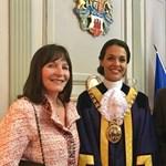 A világ legszebb polgármesterével büszkélkedik Gibraltár