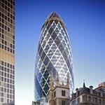 Eladó a világhírű uborka alakú felhőkarcoló - fotó