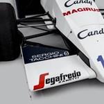 Egy darabka F1-történelem: eladó Ayrton Senna legendás Forma–1-es autója