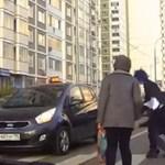 Fedélzeti kamera előtt lépett színre az orosz Zorro - videó