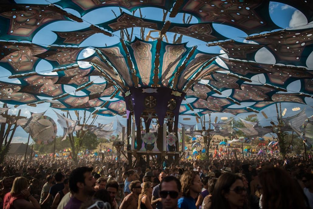 Ozora fesztivál 2012, nagyítás