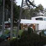 A nap lakása 1. - hegyoldalba épült villa Pécsett