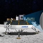 Elkészült az Airbus nagy találmánya, amellyel oxigén állítható elő a Holdon