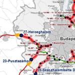 Hol válnak fizetőssé az autópályák? Íme a részletes térképek