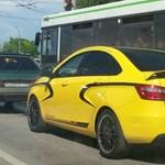 Lebukott a Lada Vesta Sport