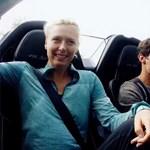 Webber megautóztatta Sarapovát a Porsche hibrid fenevadjával – videó