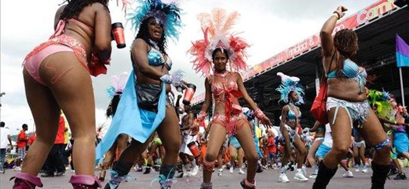 Brazil karnevál a Pecsában