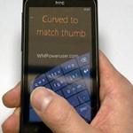 Hajlított mobilos billentyűzettel újítana a Microsoft