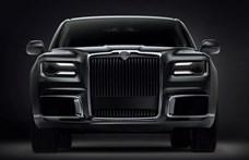 És akkor jött a nagy fekete autó: Már rendelhető a Putyin-limuzin polgári változata