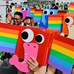 Különleges volt az idei tajvani Büszkeség napi felvonulás