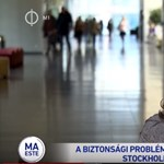 Többször is elítélték a nőt, aki az M1-en arról beszélt, a rossz svéd közbiztonság miatt tért haza