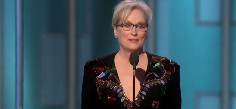 """Meryl Streep: """"Hollywood, külföldiek, média? A társadalom üldözöttjei vagyunk"""""""