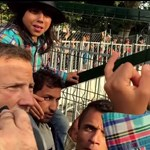 Videó: Két gyerek vezette a tüntetést ma reggel Horgosnál