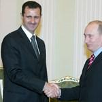 Szíria: Aszad szerint Putyin mindig is számított rá vezetőként