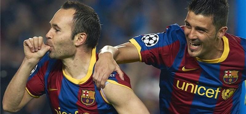 Visszatér a Barcelona egyik legbiztosabb pontja, Iniesta