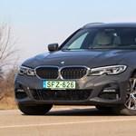Ötös alá: teszten a zöld rendszámos kombi BMW 330e