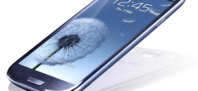 Samsung Galaxy S III: itt a várva várt csúcsmobil