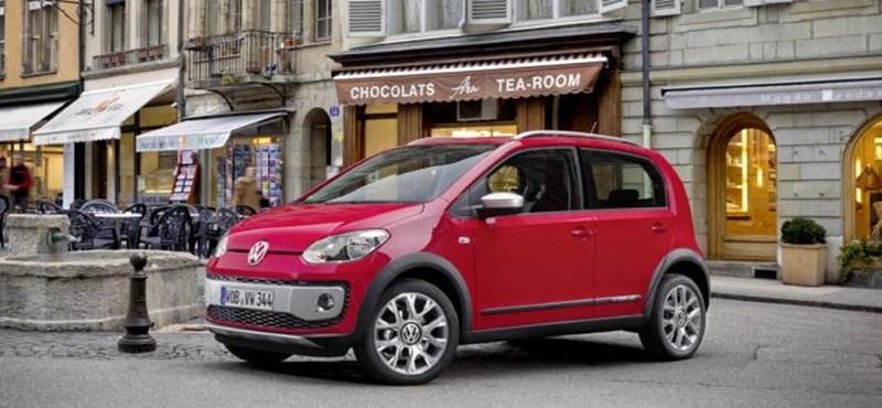 Íme, a terepjárónak álcázott Volkswagen Up! - fotók