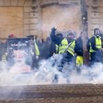 Megint sokan voltak a sárgamellényesek és ismét elszabadult az erőszak