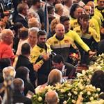 Eltemették a genovai hídomlás áldozatait