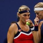 Australian Open: Visszalépett Babos Tímea párospartnere